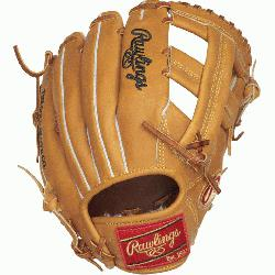 Rawlings world-renowned Heart of the Hide steer hide leather, the